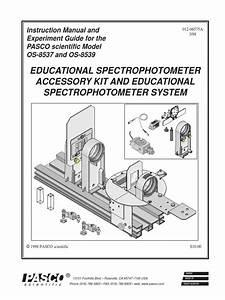 Optical Spectrophotometer