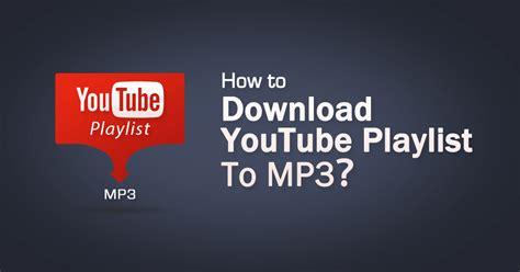 youtube playlist  mp