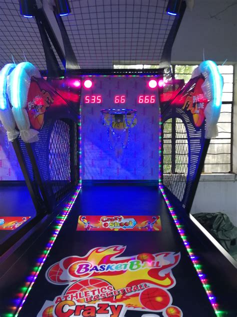 coin operated luxury basketball game machine yuto games