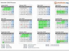 Kalender 20182019 Hessen