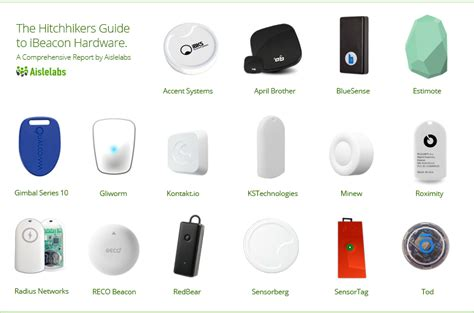 The Hitchhikers Guide to iBeacon Hardware: A Comprehensive ...