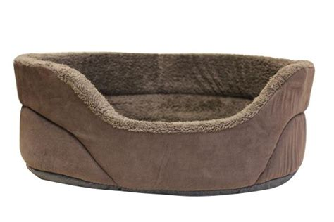 buy extra large premium luxury suede faux dog cat bed