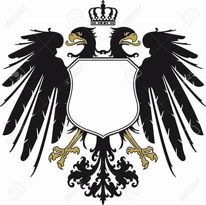 Eagle Double Headed Clipart Vector Crown German