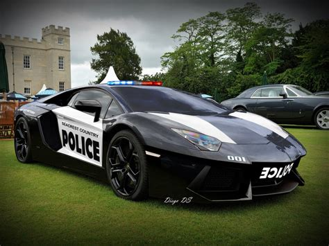 Lamborghini-aventador-police-car By Dkds On Deviantart