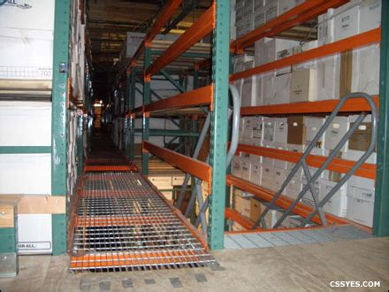 catwalk rack systems industrial catwalk systems css