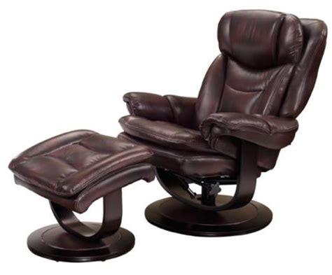 barcalounger recliner with ottoman barcalounger roscoe plymouth mahogany leather pedestal