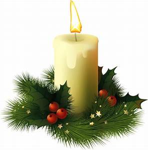 Christmas Candle - Cliparts.co