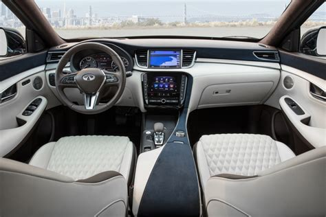 The 2019 Infiniti Qx50's Interior Is A Huge Step In The