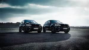 BMW X5 and X6 M Edition Black Fire 2017 Wallpaper HD Car