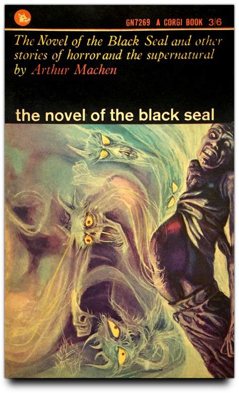 the novel of the black seal by arthur machen pulp