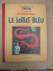 Le Lotus Bleu Levallois : tintin t5 le lotus bleu n en b c eo 1936 ~ Gottalentnigeria.com Avis de Voitures