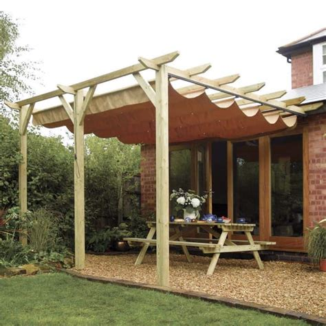 verona wooden canopy  shed