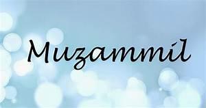 Muzammil Name Wallpapers Muzammil ~ Name Wallpaper Urdu