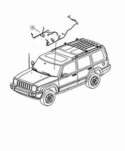 Jeep Commander Wiring  Body  Power  Integrated  Window