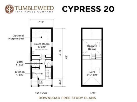 cypress  tumbleweed tiny house
