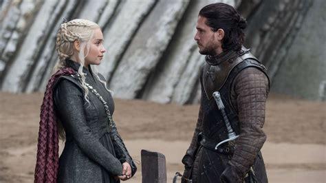Game of Thrones: Kit Harington and Emilia Clarke arrive in ...