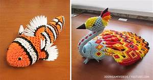 14 models by the masters of 3D origami which you can make ...