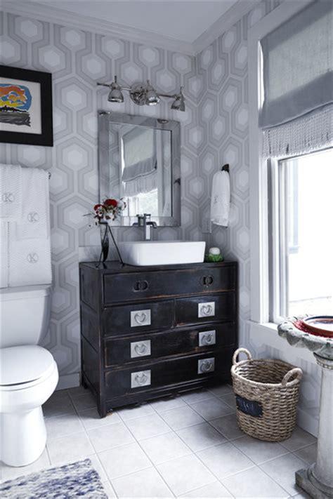 shabby chic bathroom wallpaper shabby chic bathroom photos design ideas remodel and decor lonny