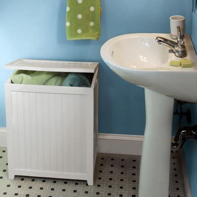 small spaces laundry hamper simple home decoration