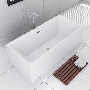 Baignoire Ilot Contre Mur : baignoire baignoire ilot ~ Nature-et-papiers.com Idées de Décoration