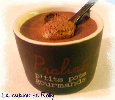 recette de mousse au chocolat au lait et fruit de la de julie andrieu
