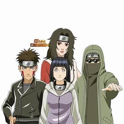 Naruto Team Kurenai Shippuden Deviantart Iennidesign Hinata