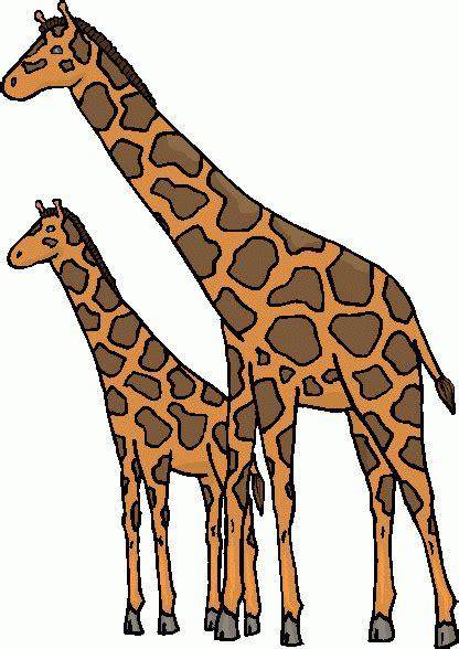 simple giraffe outline cute giraffe clipart applique image