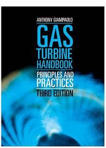 Gas Turbine Handbook  Principles And Practices 3rd Edition