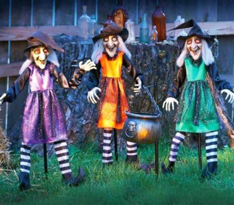 fabriquer deco halloween exterieur visuel