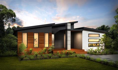 contemporary prairie style house plans small one contempo 1 swanbuild