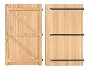Porte de garage bois brico depot maison travaux for Porte de garage de plus porte en bois sur mesure