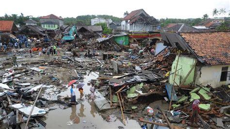 peta daerah rawan tsunami  indonesia  wajib
