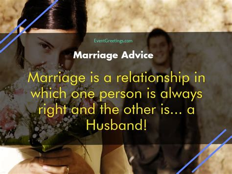 By the end, you wish you had a club and a spade. Funniest Marriage Advice and Quotes to Laugh Out Loud