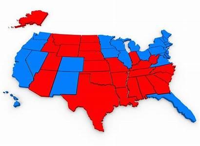 Map Political States Vs