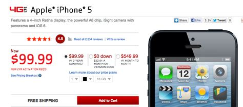 verizon iphone 5s price verizon iphone 5 gets 100 price cut while supplies last 推酷