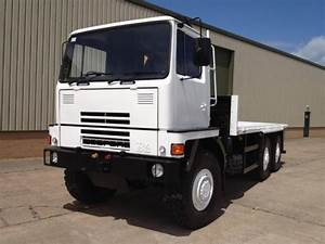 Bedford TM 6x6 Drop Side Cargo Truck with Atlas Crane for ...