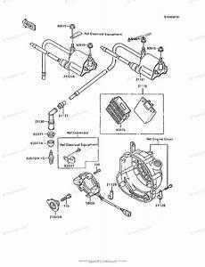 Kawasaki Motorcycle 1995 Oem Parts Diagram For Ignition