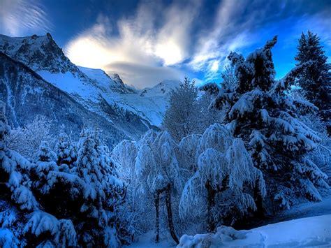 fondos de paisajes nevados fondos de pantalla  mucho mas