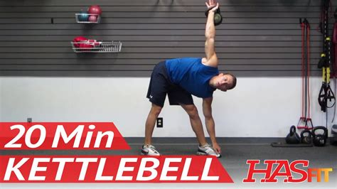 kettlebell workout workouts hasfit kettle training bell exercise minute weight routine strength dk4