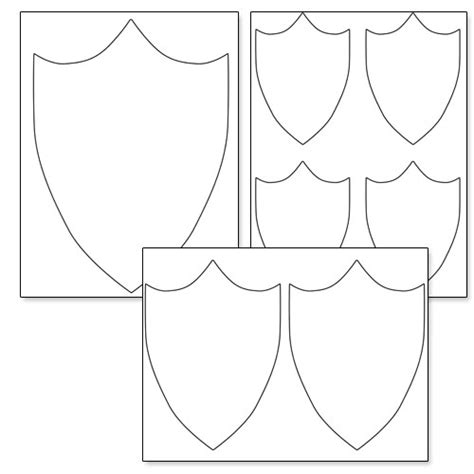 shield template   clip art  clip