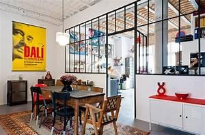Chambre Deco Industrielle : 30 fa ons de cr er une ambiance industrielle dans un salon ~ Zukunftsfamilie.com Idées de Décoration