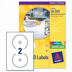 avery cd dvd labels laser 2 per sheet photo quality glossy With avery glossy stickers