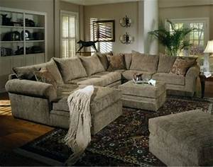 chenille fabric oversized sectional sofa with matching With chenille fabric oversized sectional sofa with matching ottoman