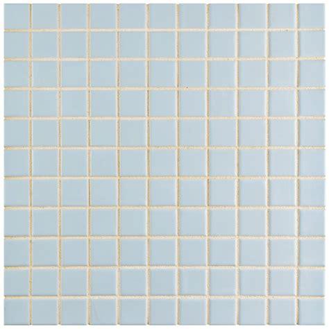 elitetile retro 1 quot x 1 quot porcelain mosaic tile in matte