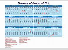 Venezuela calendario 2018 13 newspicturesxyz