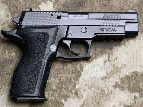 Sig Sauer P226 Enhanced Elite  Combat Rifle