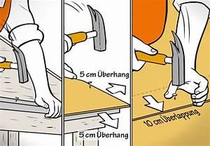 Vordeckbahn Für Bitumenschindeln : dach decken mit bitumenschindeln obi anleitung ~ Michelbontemps.com Haus und Dekorationen
