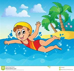 Swimming Theme Image 2 Stock Image - Image: 30680661