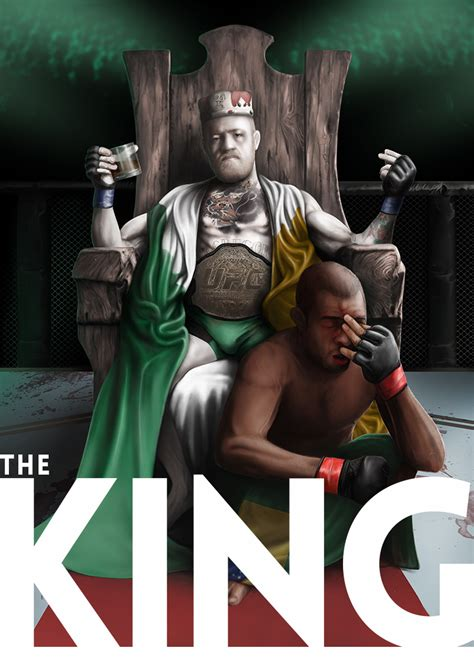 conor mcgregor  king  shirt ufc  mma clothing