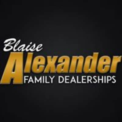 blaise alexander family dealerships careers  employment